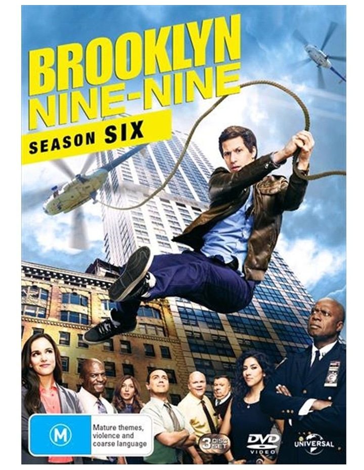 Brooklyn Nine-Nine - Season 6 DVD image 1