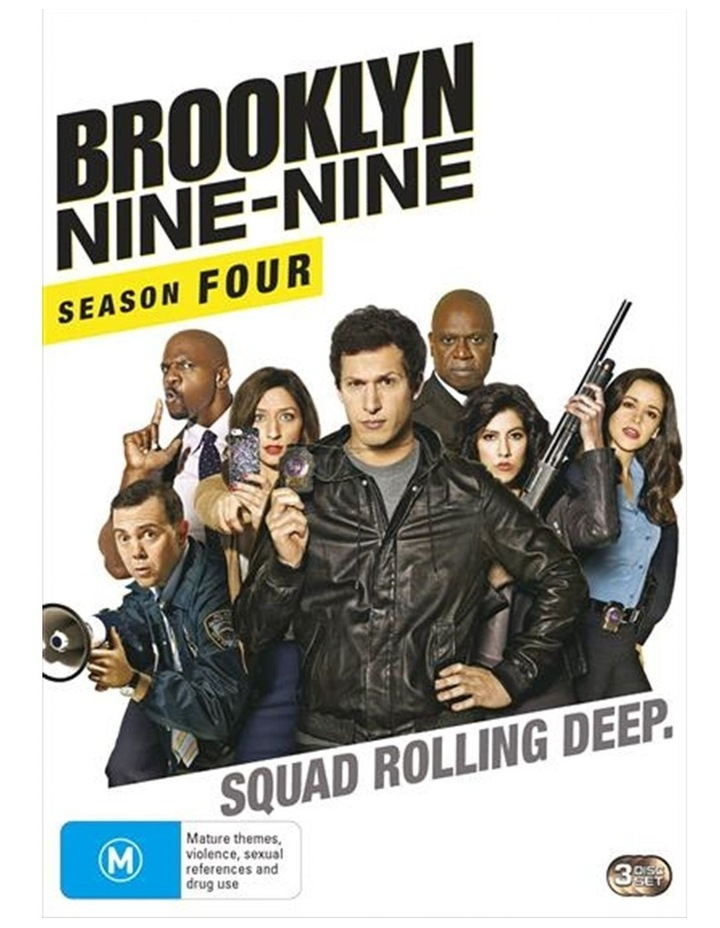 Brooklyn Nine-Nine - Season 4 DVD image 1