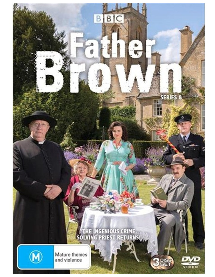 Father Brown - Series 8 DVD image 1