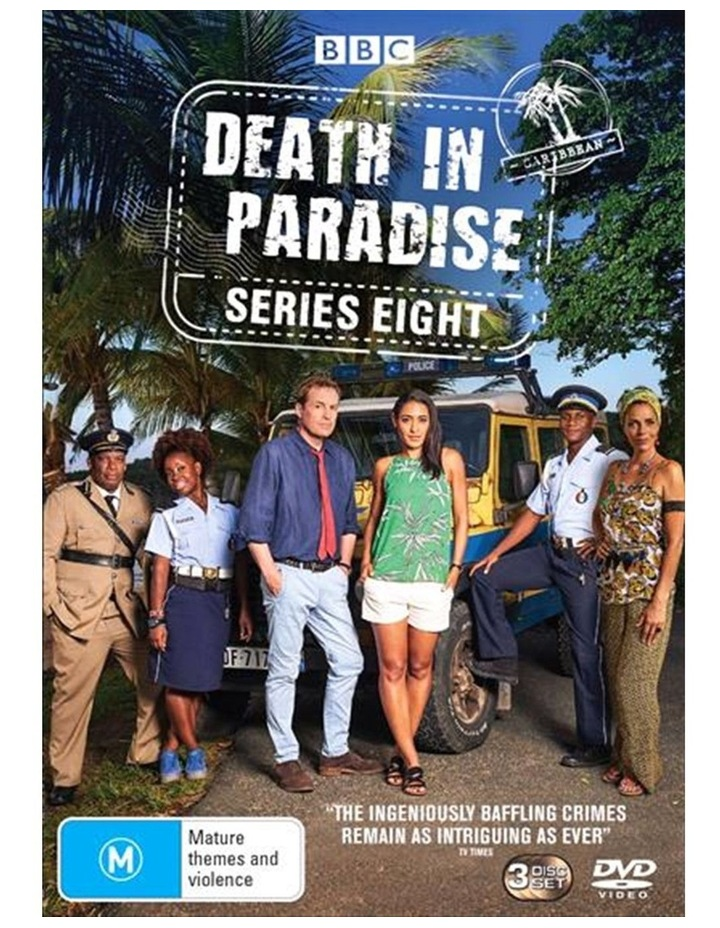 Death In Paradise - Series 8 DVD image 1