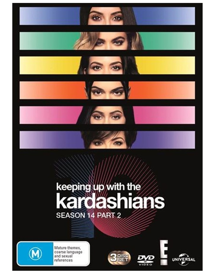 Keeping Up With The Kardashians - Season 14 - Part 2 DVD image 1