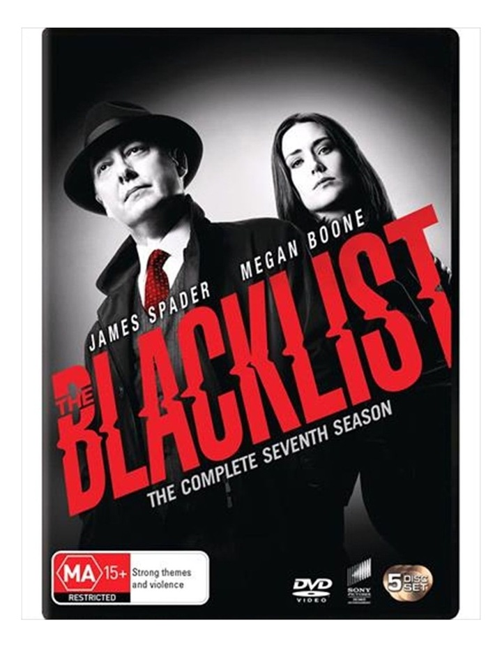 The Blacklist - Season 7 DVD image 1