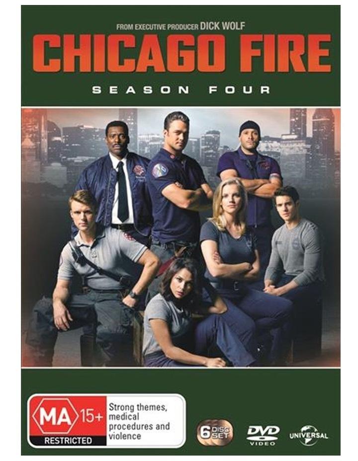 Chicago Fire - Season 4 DVD image 1