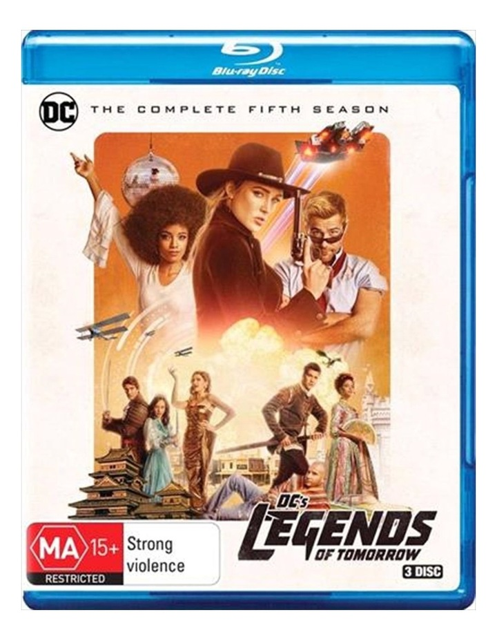 DC's Legends Of Tomorrow - Season 5 Blu-ray image 1