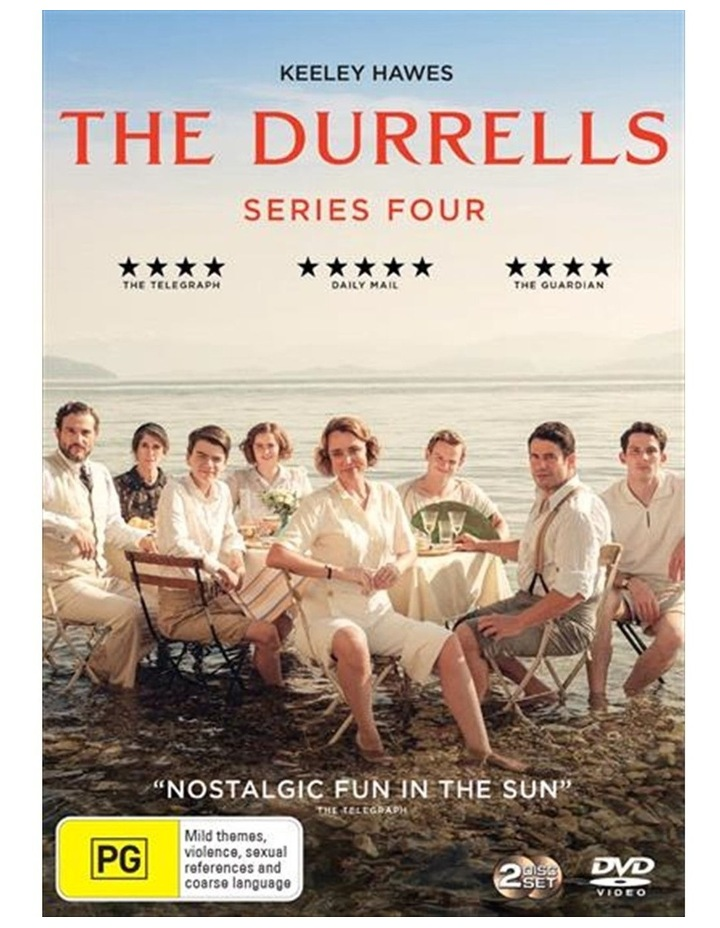 The Durrells - Series 4 DVD image 1