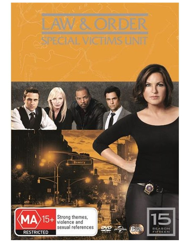 Law And Order - Special Victims Unit - Season 15 DVD image 1