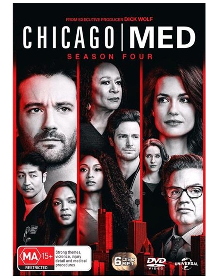 Chicago Med - Season 4 DVD image 1