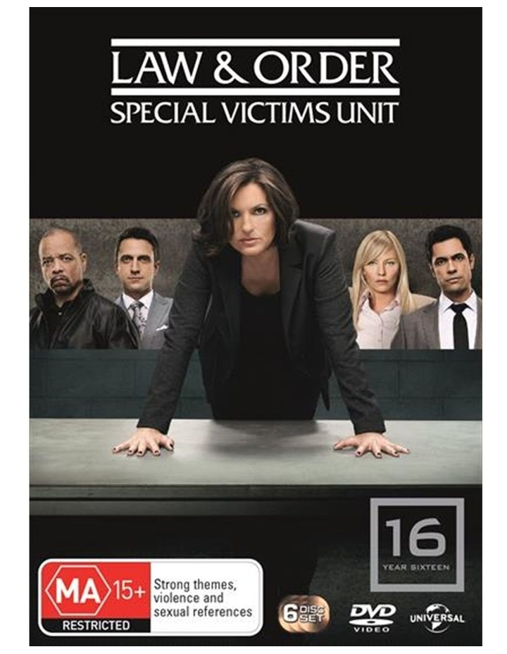 Law And Order - Special Victims Unit - Season 16 DVD image 1