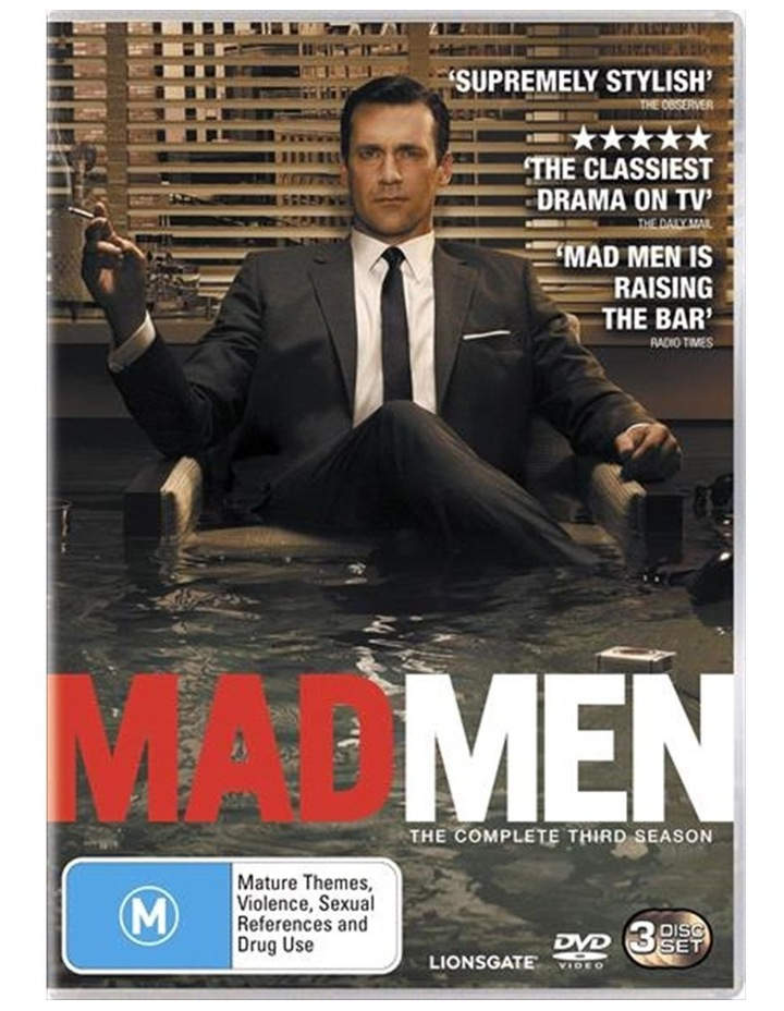 Mad Men - Season 3 DVD image 1