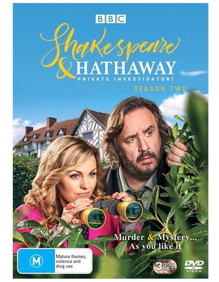 Shakespeare and Hathaway - Private Investigators - Series 2 DVD image 1