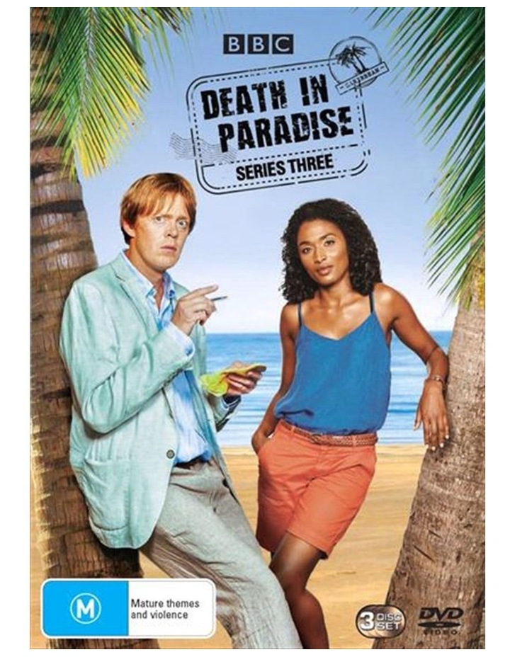 Death In Paradise - Series 3 DVD image 1