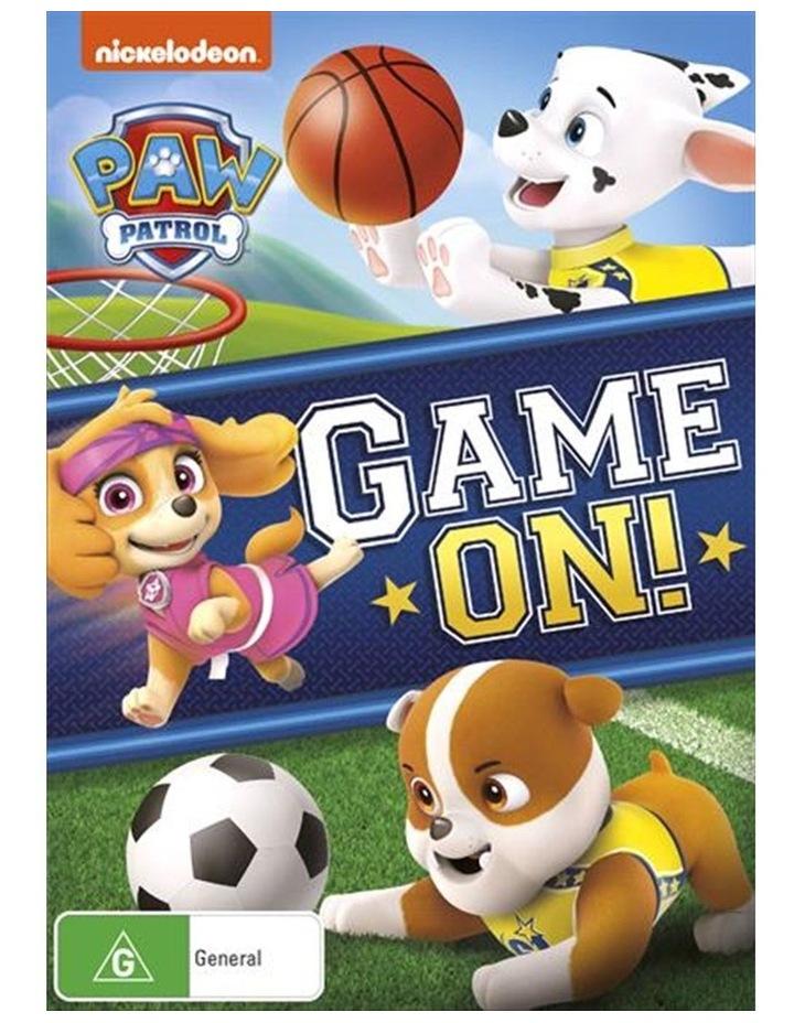 Paw Patrol - Game On! DVD image 1