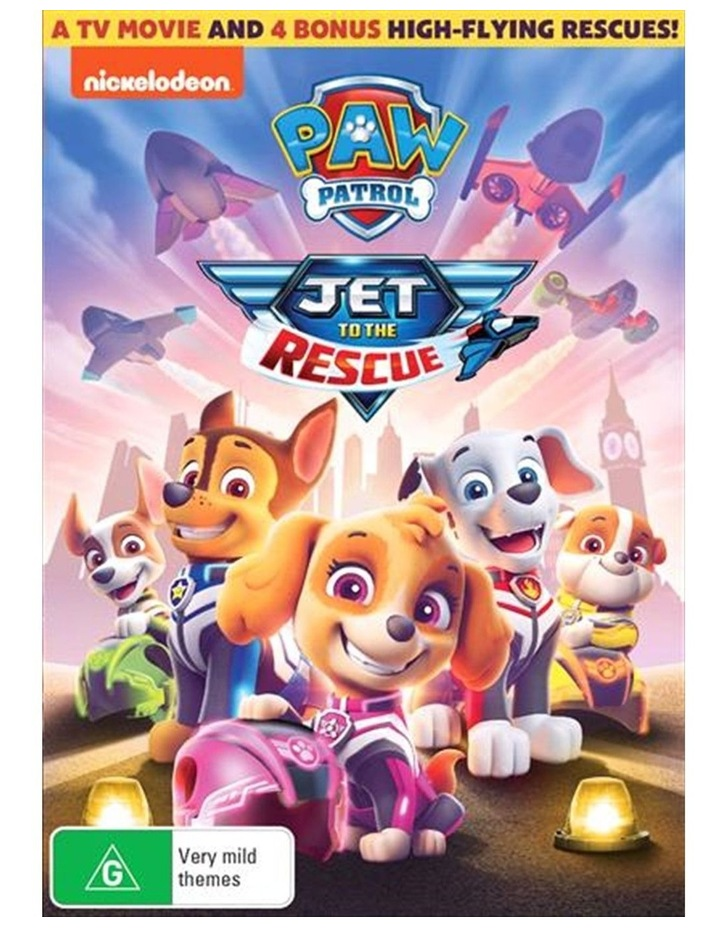 Paw Patrol - Jet To The Rescue DVD image 1