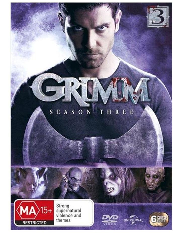 Grimm - Season 3 DVD image 1