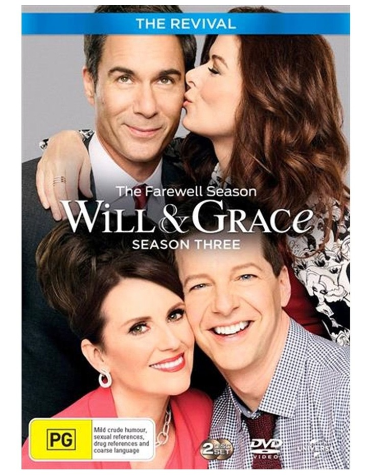 Will and Grace - The Revival - Season 3 DVD image 1