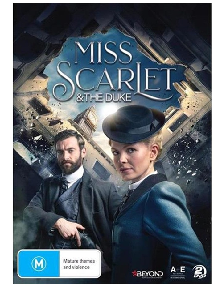Miss Scarlet and The Duke DVD image 1