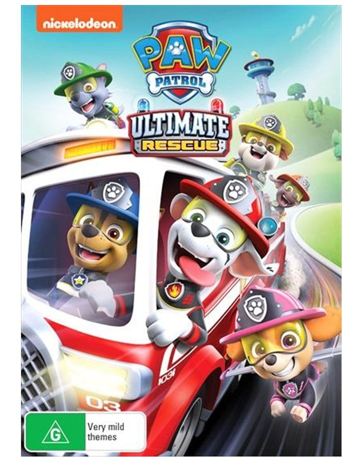 Paw Patrol - Ultimate Rescue DVD image 1