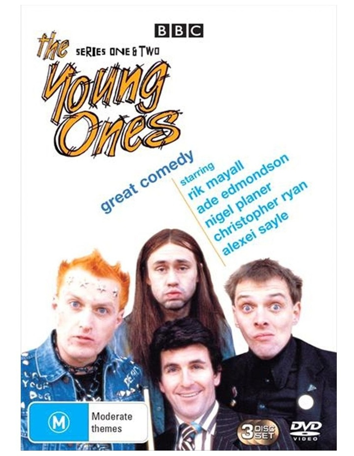 The Young Ones - Series 1-2 DVD image 1