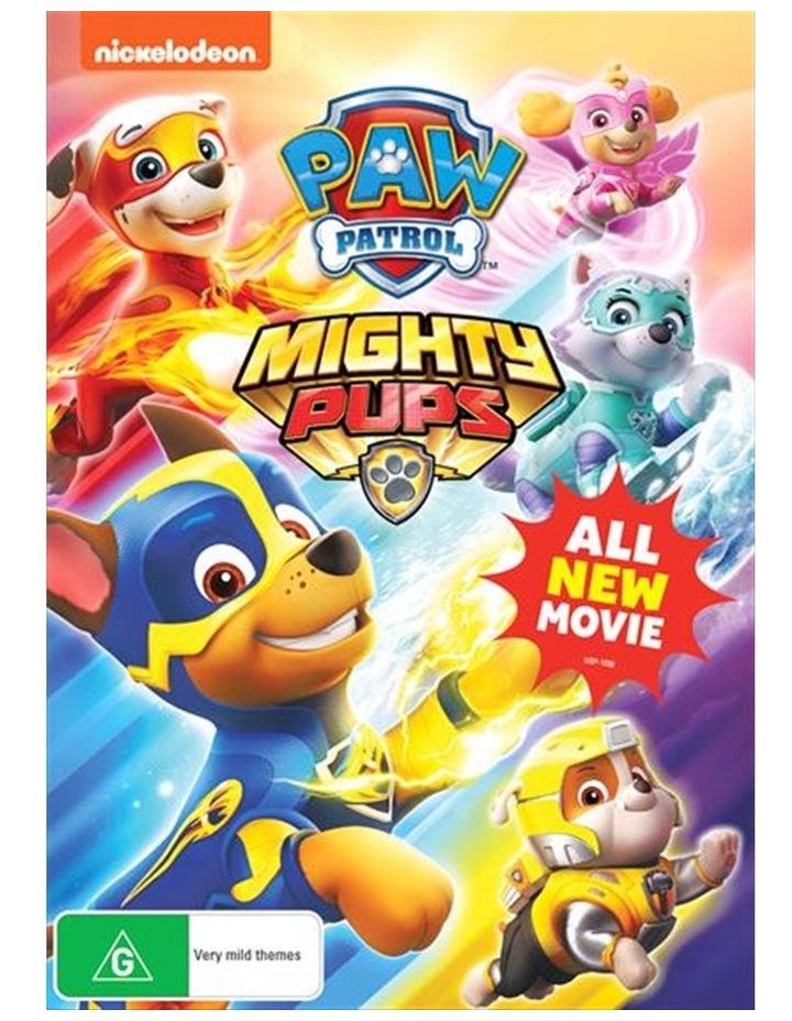 Paw Patrol - Mighty Pups DVD image 1