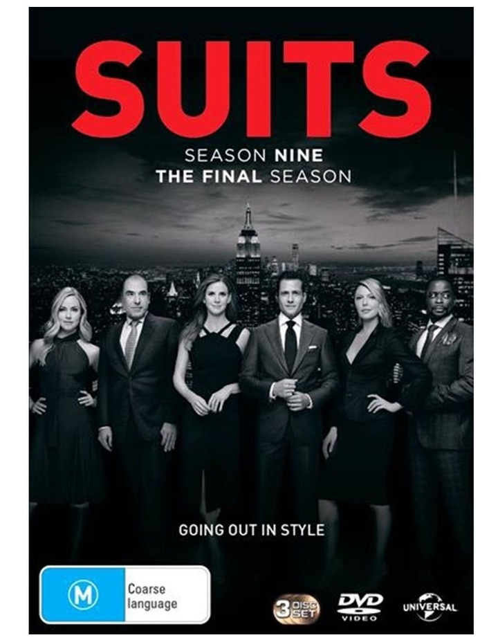 Suits - Season 9 DVD image 1
