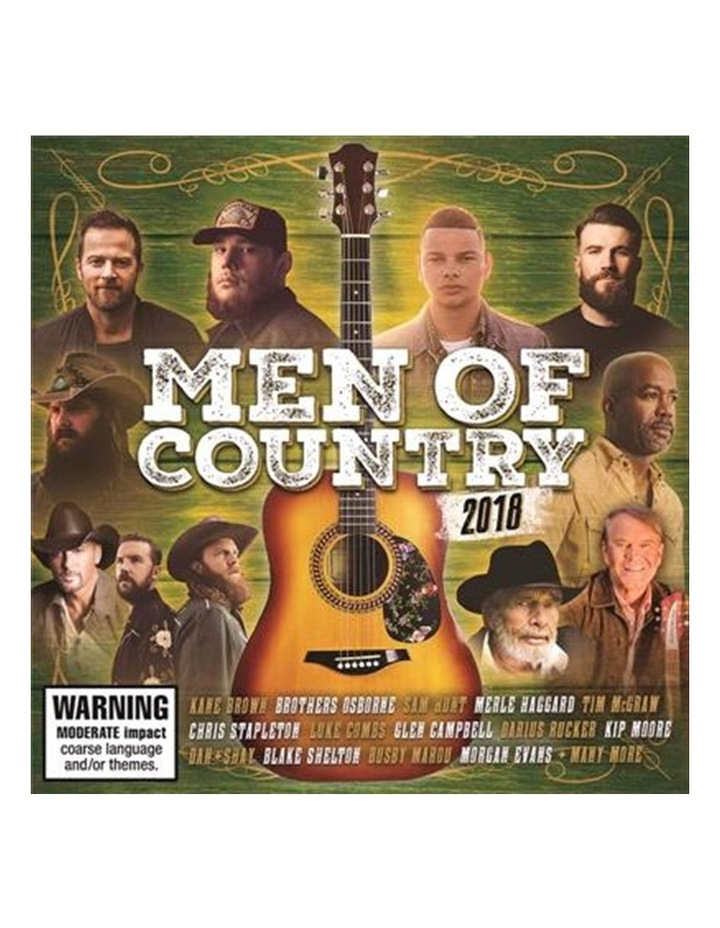 Various - Men Of Country 2018 CD image 1
