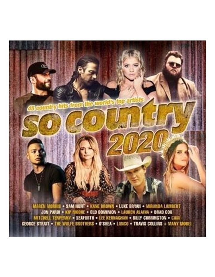 Various: So Country 2020 CD image 1