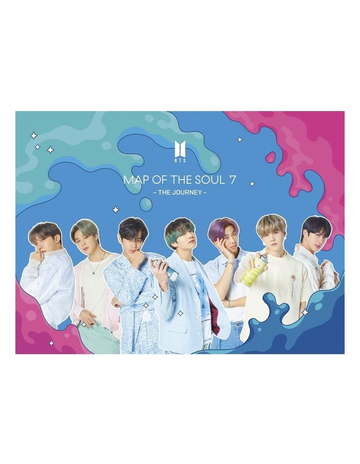 BTS - MAP OF THE SOUL - 7 THE JOURNEY (VERSION A) CD/BLURAY image 1