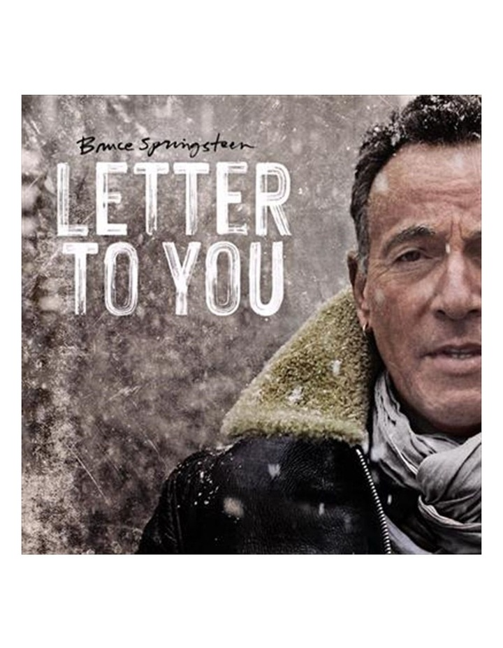 Bruce Springsteen - Letter To You CD image 1