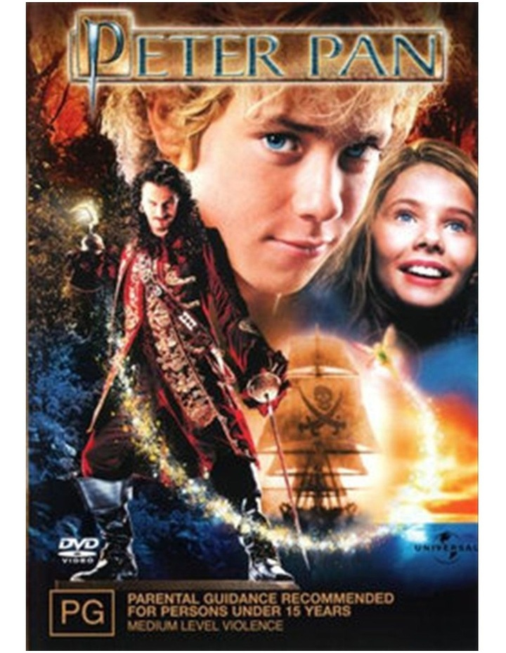 Peter Pan DVD image 1