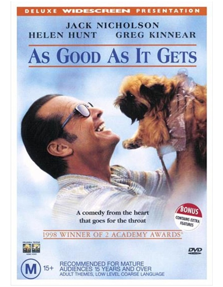 As Good As It Gets DVD image 1