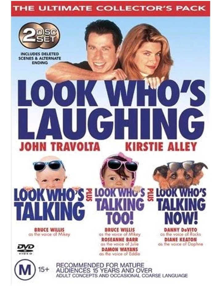 Look Who's Talking Ultimate Collector's Pack DVD image 1