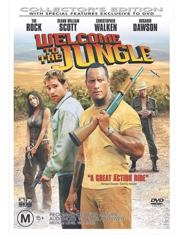 Welcome To The Jungle DVD image 1