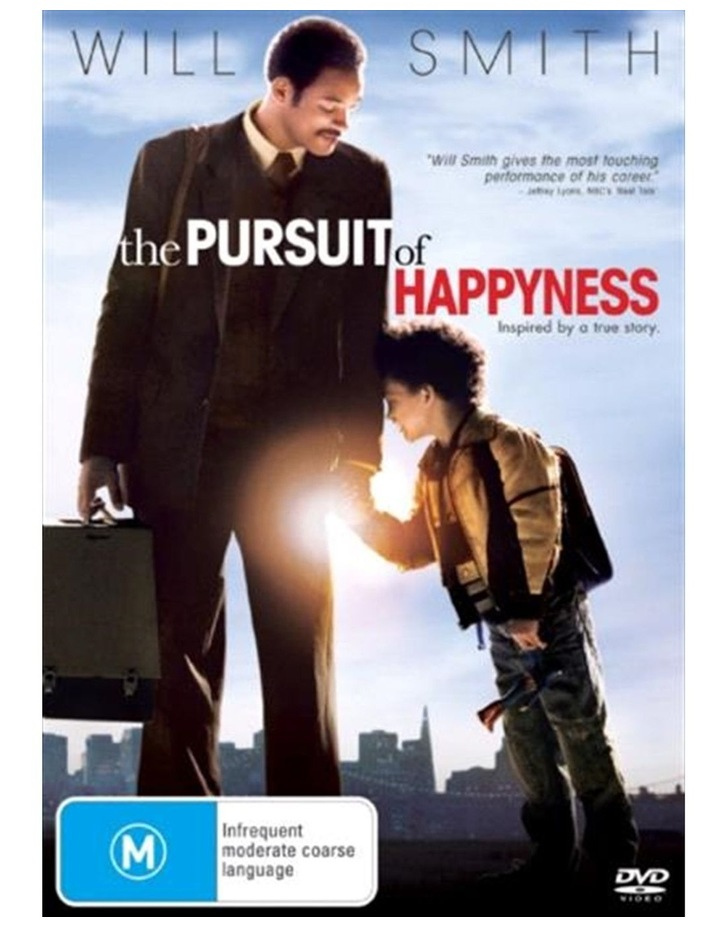 Pursuit of Happyness DVD image 1