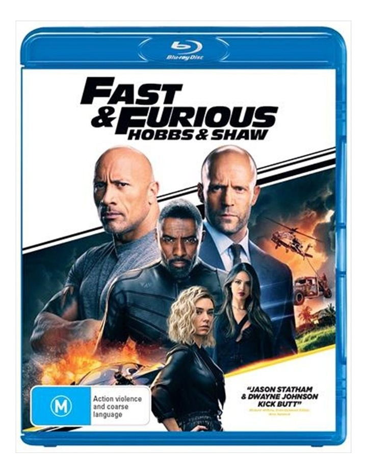 Fast and Furious - Hobbs and Shaw Blu-ray image 1