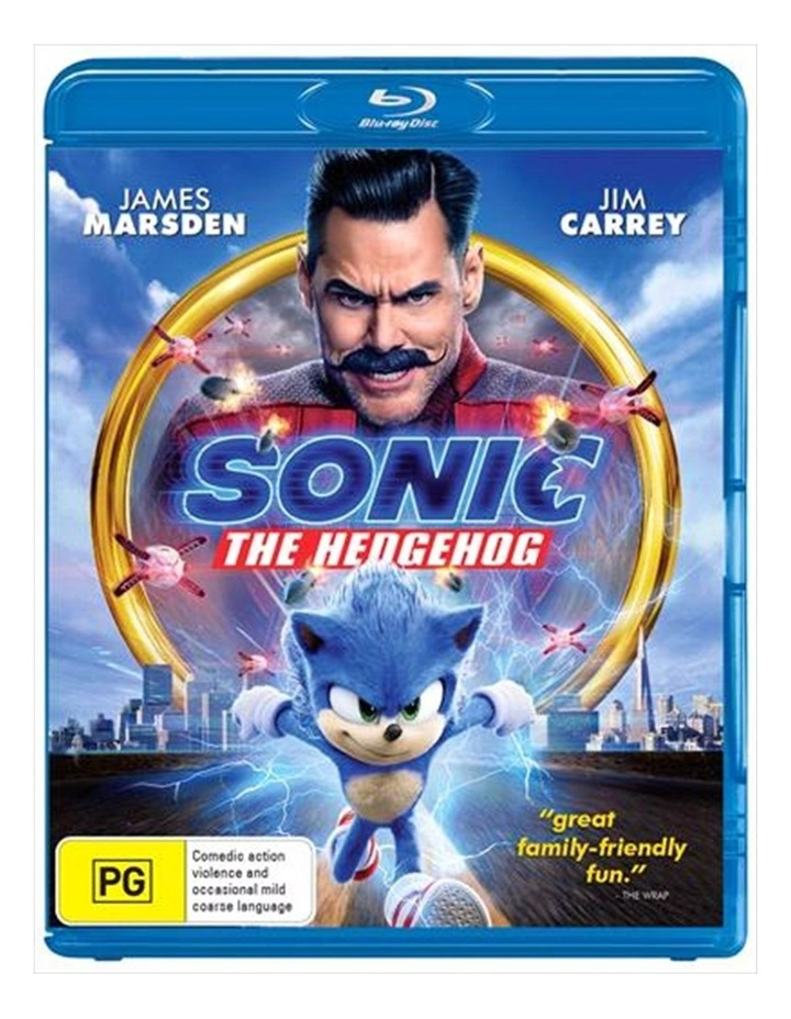 Sonic The Hedgehog Blu-ray image 1
