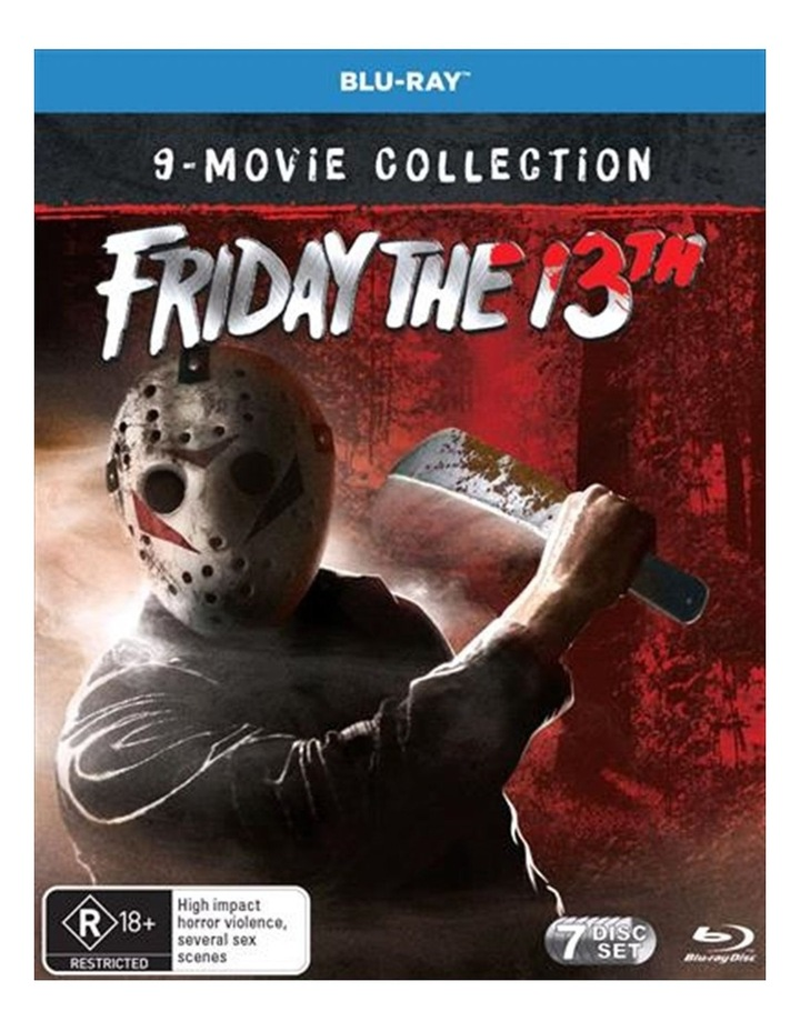 Friday The 13th Collection Blu-ray image 1