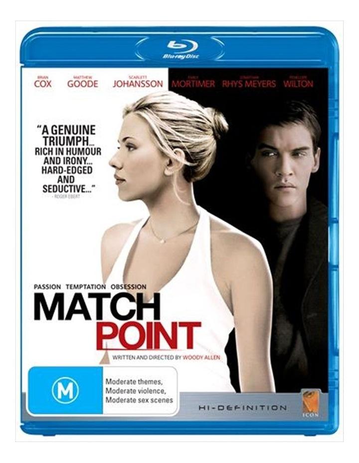 Match Point Blu-ray image 1