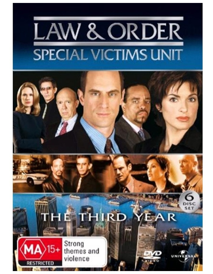 Law And Order - Special Victims Unit - Season 3 DVD image 1