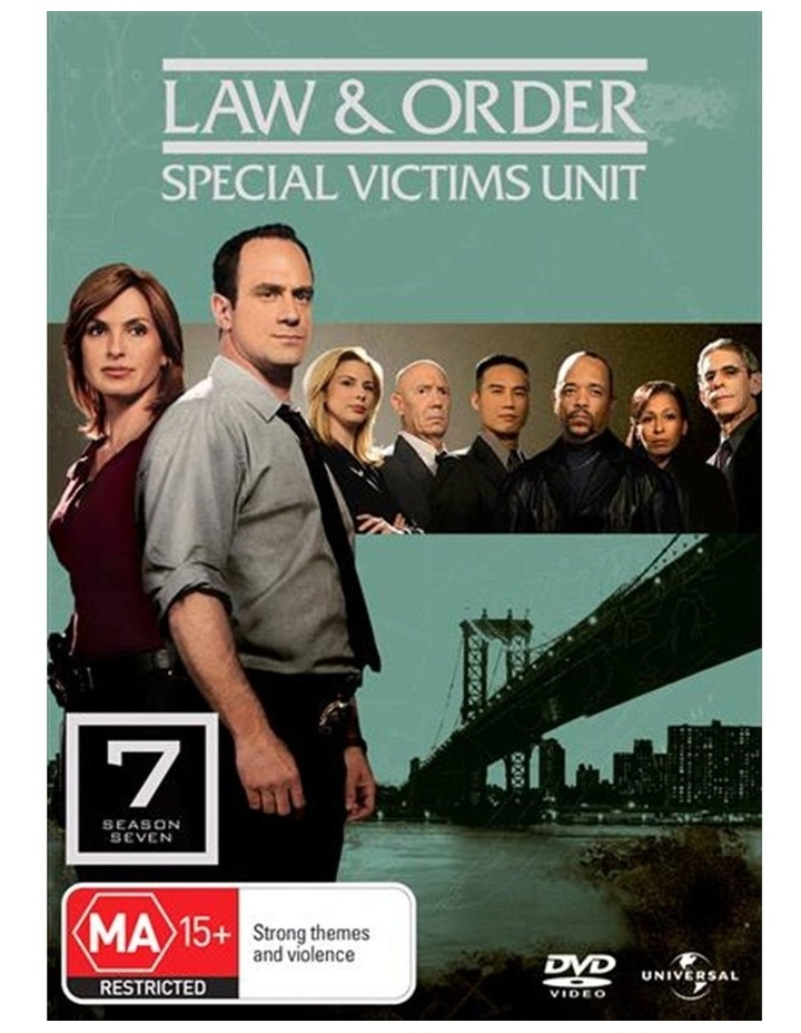 Law And Order - Special Victims Unit - Season 7 DVD image 1