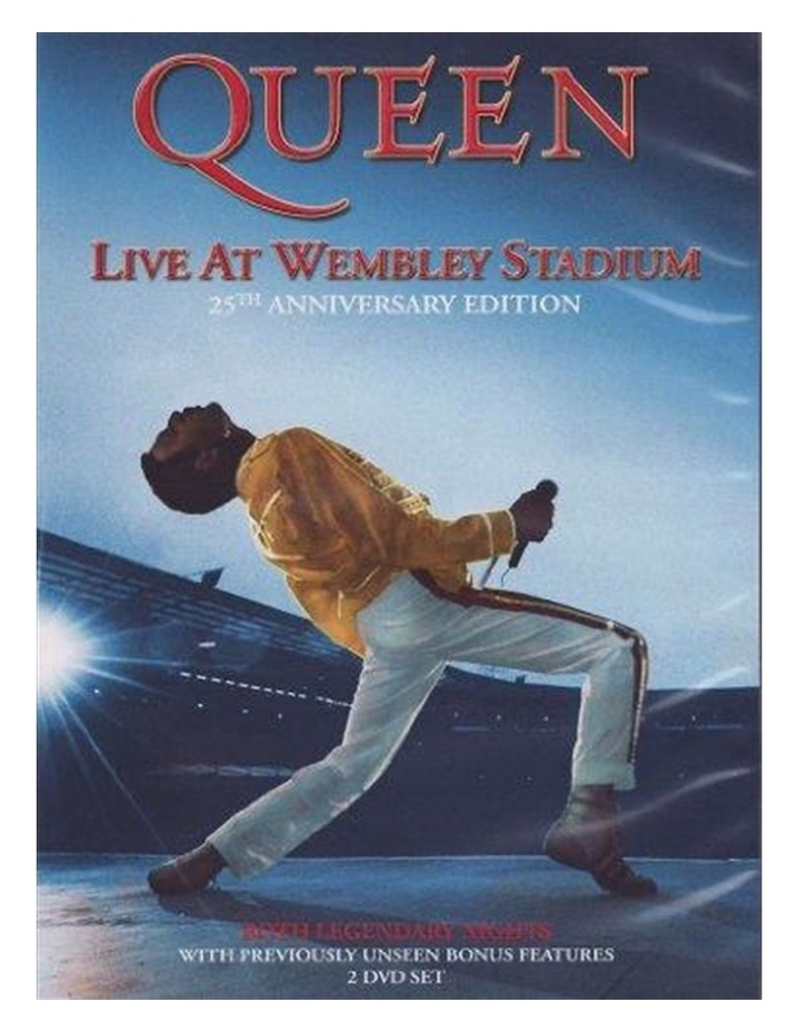 Queen: Live At Wembley Stadium DVD image 1