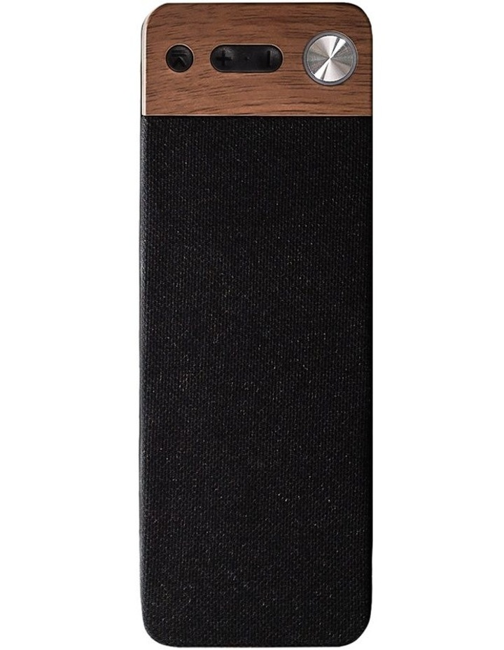 LuxeTech Portable Bluetooth Speaker - Walnut image 1