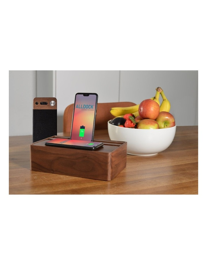 LuxeTech Portable Bluetooth Speaker - Walnut image 7