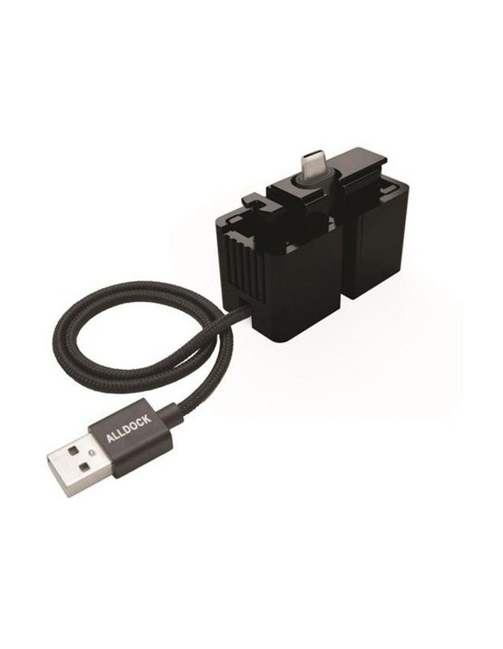 C-Type One Hand Click Docking System Black image 1