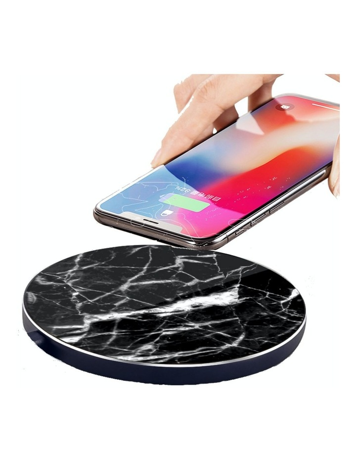 LuxeTech Wireless Pad - Black Marble image 1