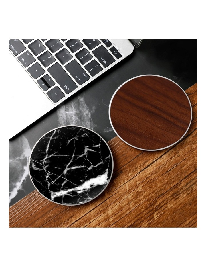 LuxeTech Wireless Pad - Black Marble image 3