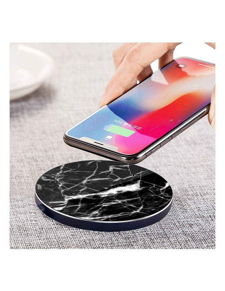 LuxeTech Wireless Pad - Black Marble image 4