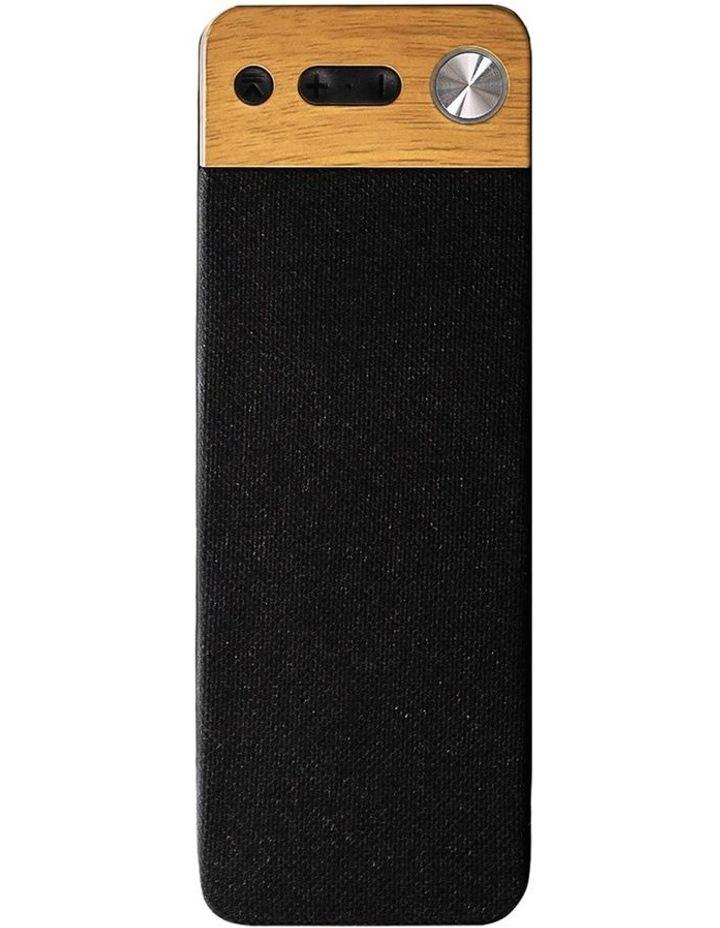 LuxeTech Portable Bluetooth Speaker - Beech image 1