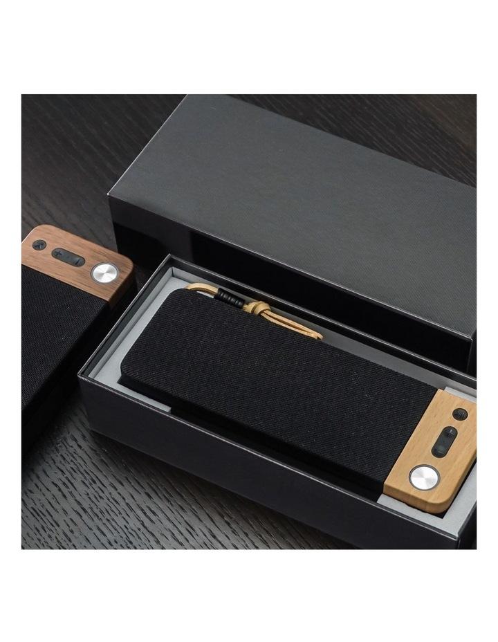 LuxeTech Portable Bluetooth Speaker - Beech image 4