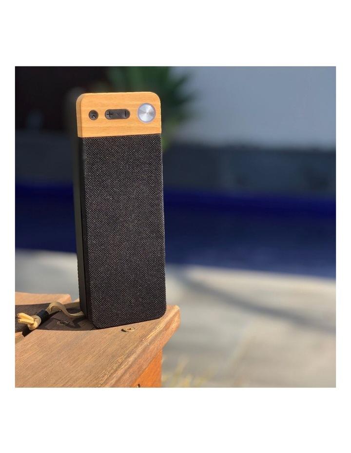 LuxeTech Portable Bluetooth Speaker - Beech image 5