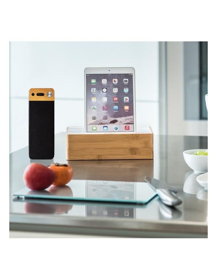 LuxeTech Portable Bluetooth Speaker - Beech image 7
